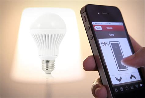 App Controlled Lighting app controlled light bulbs