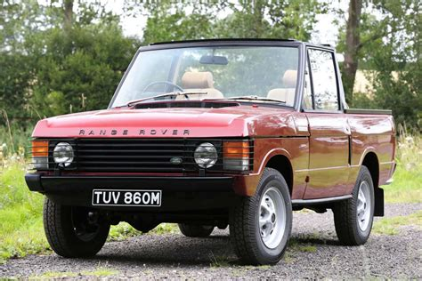 land rover discovery convertible range rover cabriolet 1973 vente aux encheres