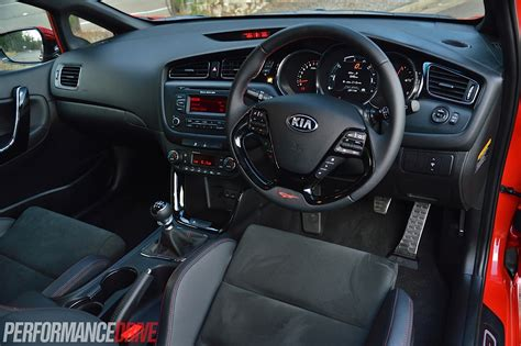 Kia Pro Ceed Gt Interior 2014 Kia Pro Cee D Gt Tech Review Performancedrive