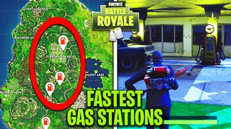 fortnite gas stations easiest way to quot visit 3 different gas stations quot in a