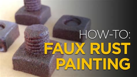 faux rust spray paint how to faux rust painting with spraypaint
