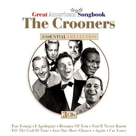 The Greatest American Ringtone Great American Crooners Cd Covers