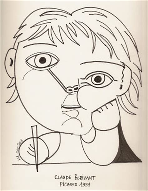 karine s art picasso dessins picasso drawings