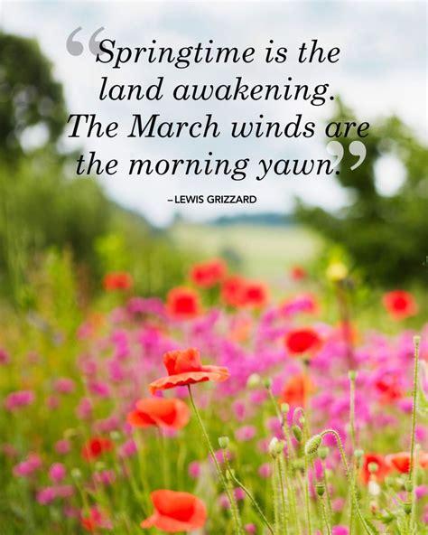 sweetest spring quotes    season