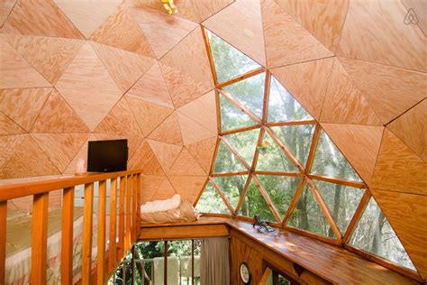 airbnb cabins airbnb s most popular rental is a tiny mushroom dome cabin