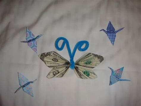 Origami Butterfly Money - gallery for gt origami butterfly money