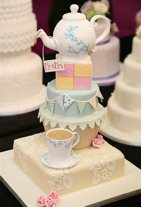 afternoon tea themed wedding 357 best tea cups and tea pot cakes images on