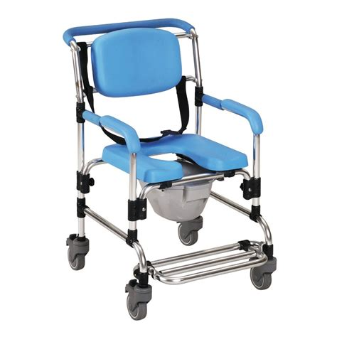 Comfort Care Inc Ocean Wheeled Shower Commode Chair