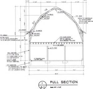 gerry woodworkers pole barn plans with material list