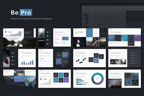 Bepro Powerpoint Business Template By Simplesmart On Envato Elements Envato Powerpoint Templates
