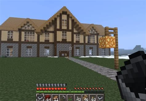biggest minecraft house epic big house in minecraft youtube