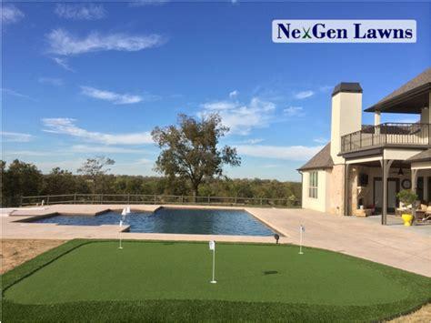 advantage  residential synthetic grass nexgen lawns
