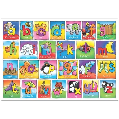 Disney Floor Matching - orchard toys alphabet jigsaw floor puzzle 3yrs