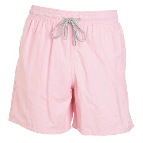light pink shorts vilebrequin light pink moorea swim shorts