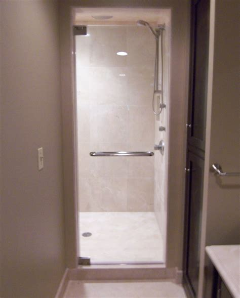 Single Glass Shower Door Single Shower Doors Frameless Shower Doors