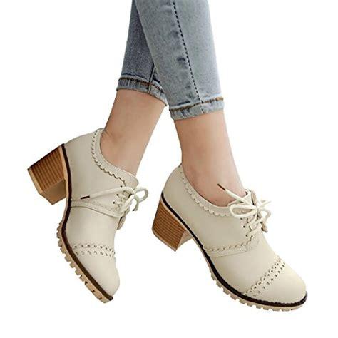 where to buy womens oxford shoes susanny dxz072803 beige 6 susanny classic retro pu oxfords
