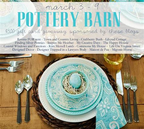 Pottery Barn Giveaway - pottery barn giveaway finding silver pennies