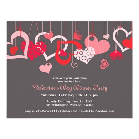 valentines invitation 3 000 valentines day invitations valentines day