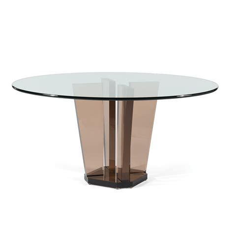 acrylic dining table allan knightbronze acrylic dining tables
