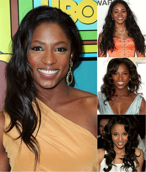 pics of black woman clip on hairstyle loose wavy hair for black women archives vpfashion vpfashion