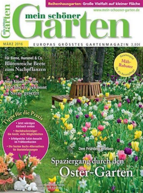 Schöner Garten Abo 2120 by Mein Garten Abo Mein Sch Ner Garten Abo Bis 30 Pr Mie Im