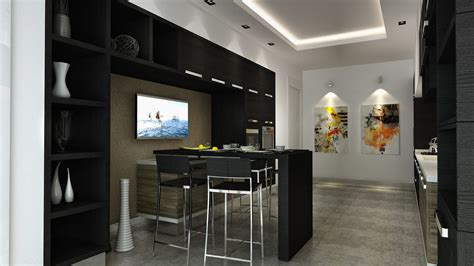 Ideas For Small Kitchens In Apartments For Your Inspiration The Most Beautiful Black Kitchens