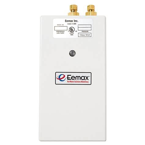 eemax sp3512 electric tankless water heater eemax sp3512 electric non thermostatic tankless single