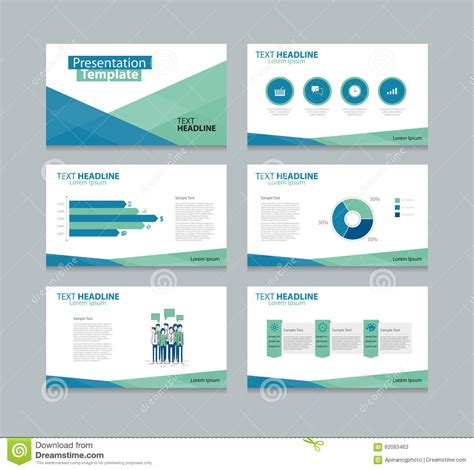 templates for slides vector template presentation slides background design