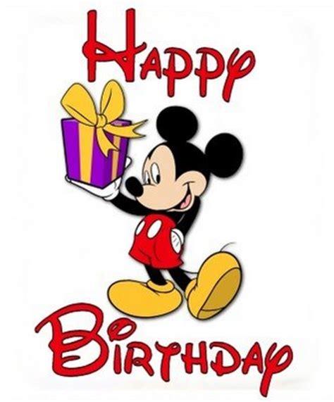 Mickey Mouse Happy Birthday Wishes Cartoon Pictures Birthday Cartoon Mickey Mouse