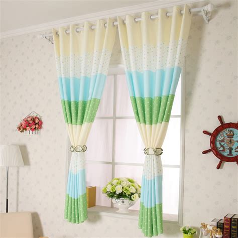 Blue And Green Curtains Cheap Blackout Blue And Green Polka Dot Curtains