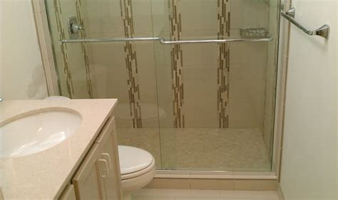 converting bath to shower bathroom tub to shower conversion contemporary bathroom by custom surface solutions