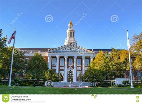 Baker College 5 Year Mba by Boston Harvard Business School Cus Stock Photography