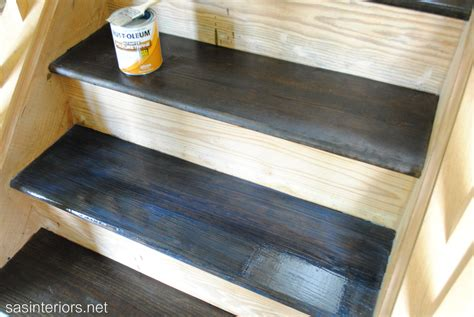Painting Oak Cabinets by Staircase Makeover Filling Holes And Staining Treads Jenna Burger