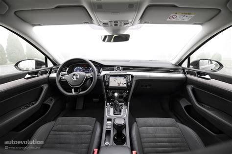 white volkswagen passat interior 2015 volkswagen passat review autoevolution