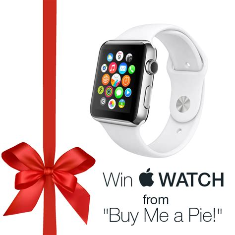 Apple Watch Giveaway - apple watch giveaway from quot buy me a pie quot grocery list application