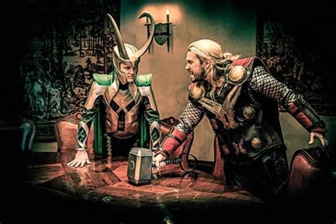 Thor Movie Villa | incredible thor cosplay group project nerd