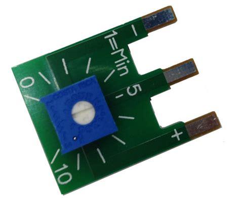 Le 0 10v by Potentiometer 10 Kohm Potentiometer F 246 R Manuell