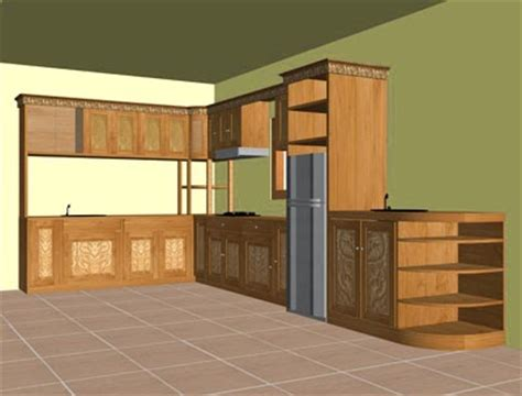 gambar desain furmiture lemari dapur contoh model lemari gantung dapur minimalis modern 2014