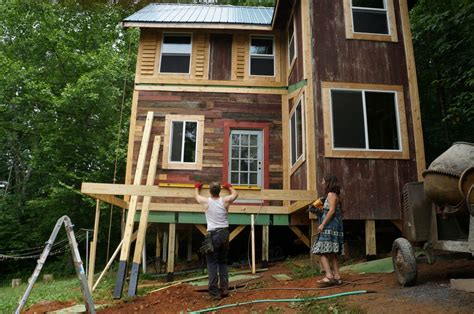tiny house for family of 5 a family of four finds happiness in a 168 square foot home