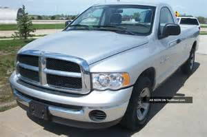 2004 Dodge Ram 2004 Dodge Ram 1500 2wd Slt Reg Cab Silver Tow Package 9940