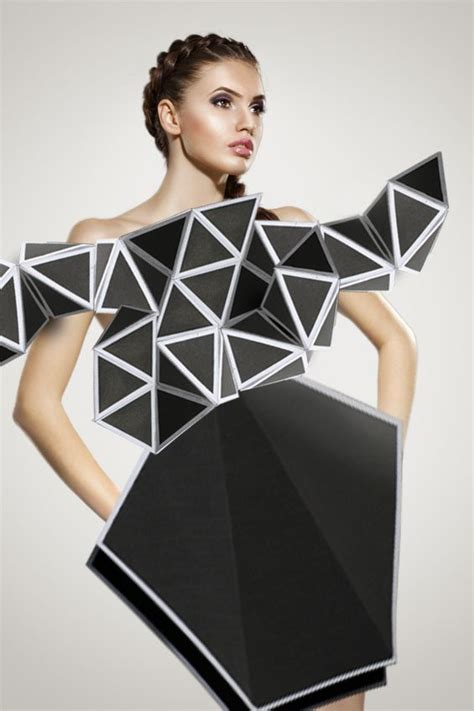 Origami In Fashion - origami fusion and fashion origami paper