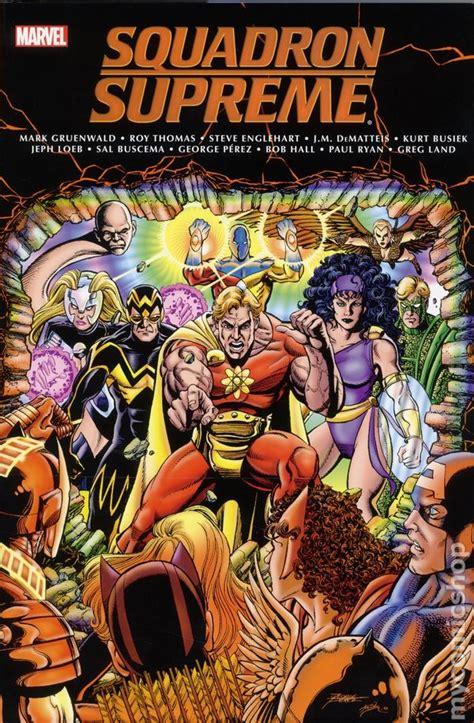 x classic omnibus squadron supreme classic omnibus hc 2016 marvel comic books