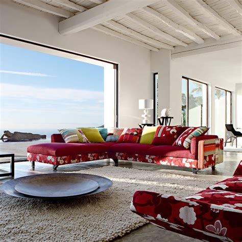 red and white living room white living room red sofa home trendy
