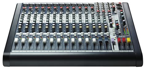 Mixer Audio 16 Ch soundcraft mfxi12 mixer console live audio analog