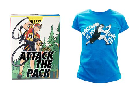 attack the pack and t shirt