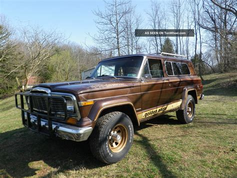 jeep cherokee golden eagle 1979 jeep cherokee golden eagle wide track sport utility 2