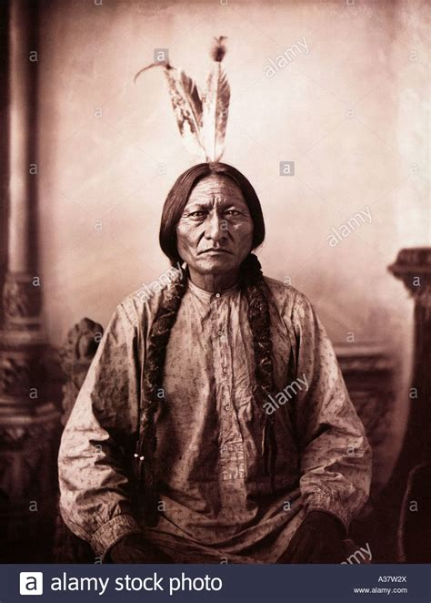 Sitting Bull by Sitting Bull American Warrior C 1834 To 1890 Chief