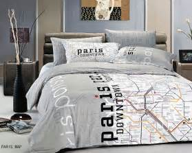 Cityscape Comforter Total Fab Paris Amp Eiffel Tower Themed Bedding For Less