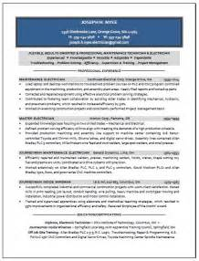 Marine Electrician Resume Example 5 Ilivearticles Info