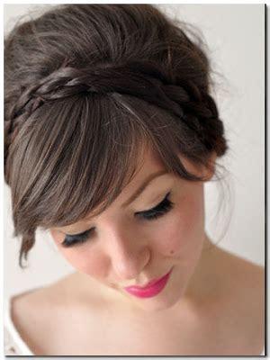 Hair Clip Pita Bunga Hitam kanubeea hair clip tutorial kepang cantik untuk ke pesta